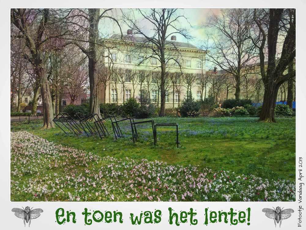 Lente in Den Haag