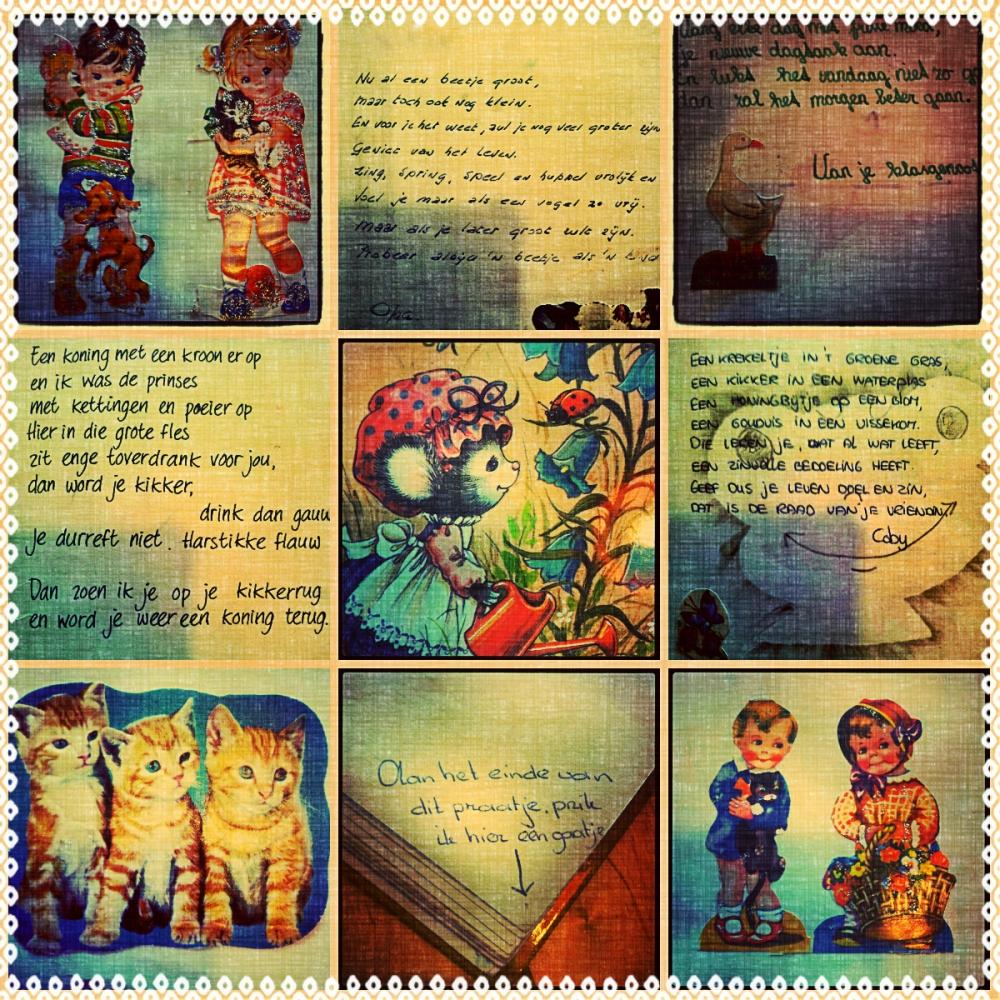 Fragmenten uit mijn poesiealbum