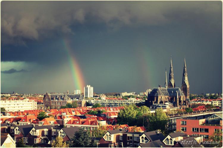 den haag regenboog