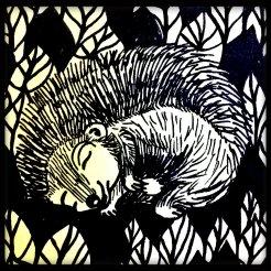 slapende egel
