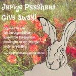 jarige paashaas give away