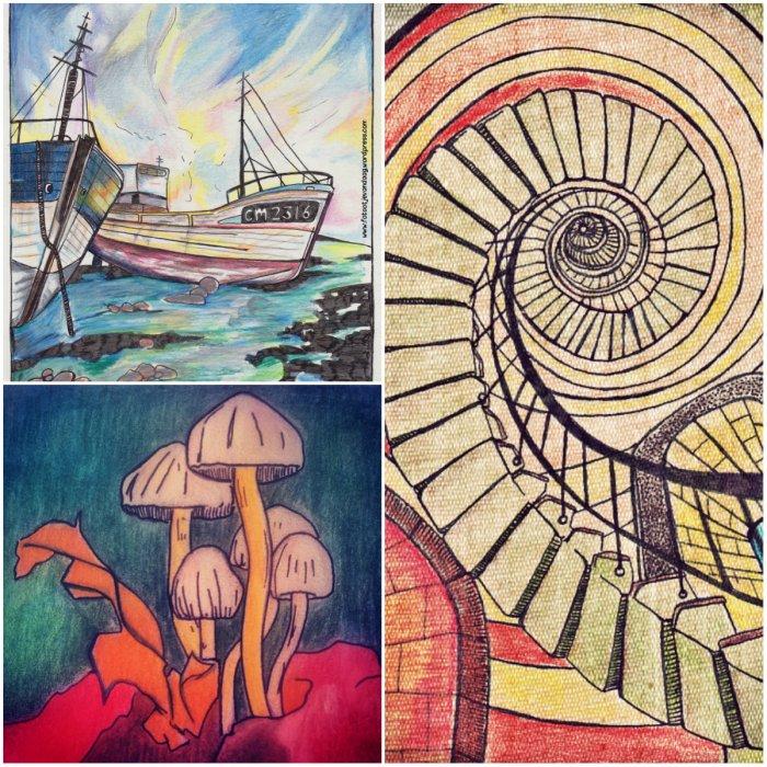 collagetekeningen