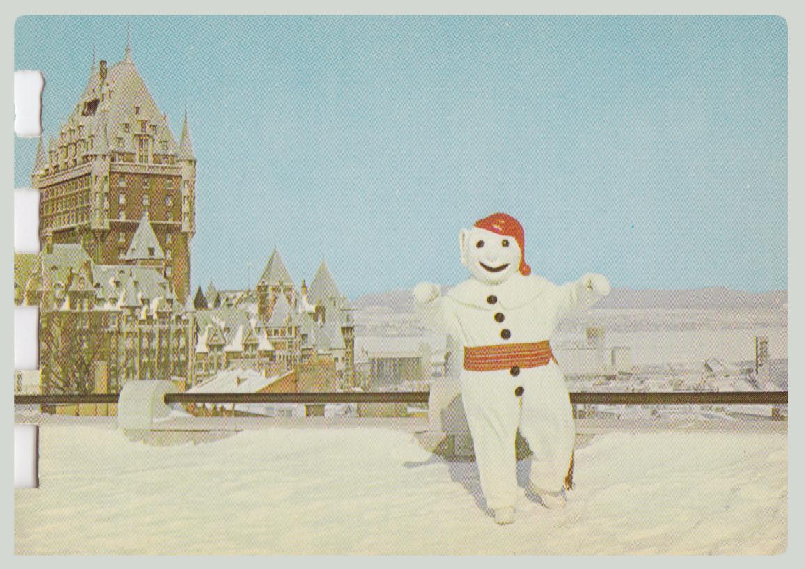 dansende sneeuwman