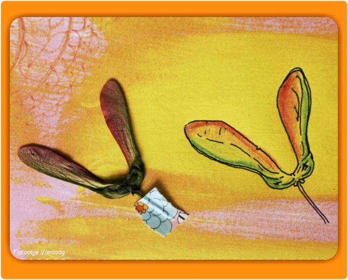 Vleugeltjes op papier
