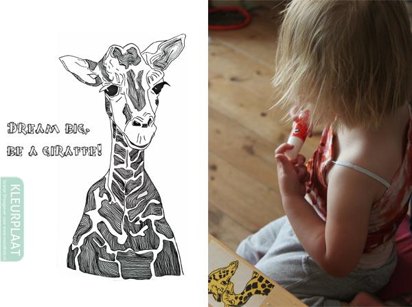 moodkidskleurplaat-giraffe