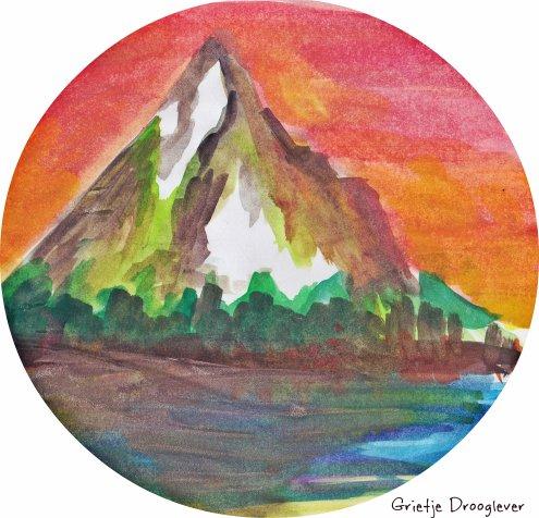 Fantasie berg